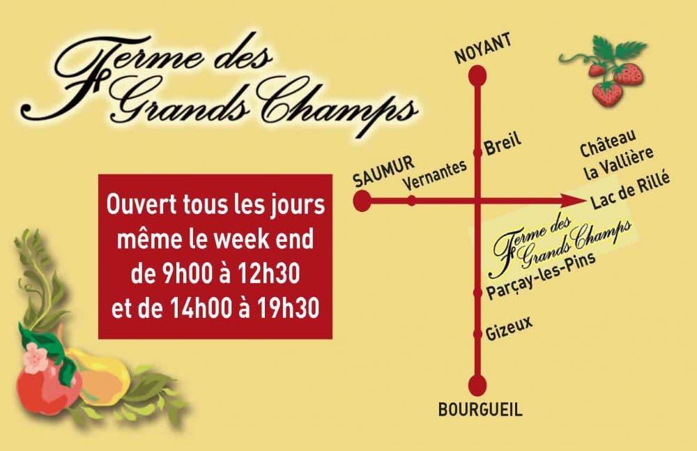 Ferme des Grands Champs - Parçay-les-Pins (49)