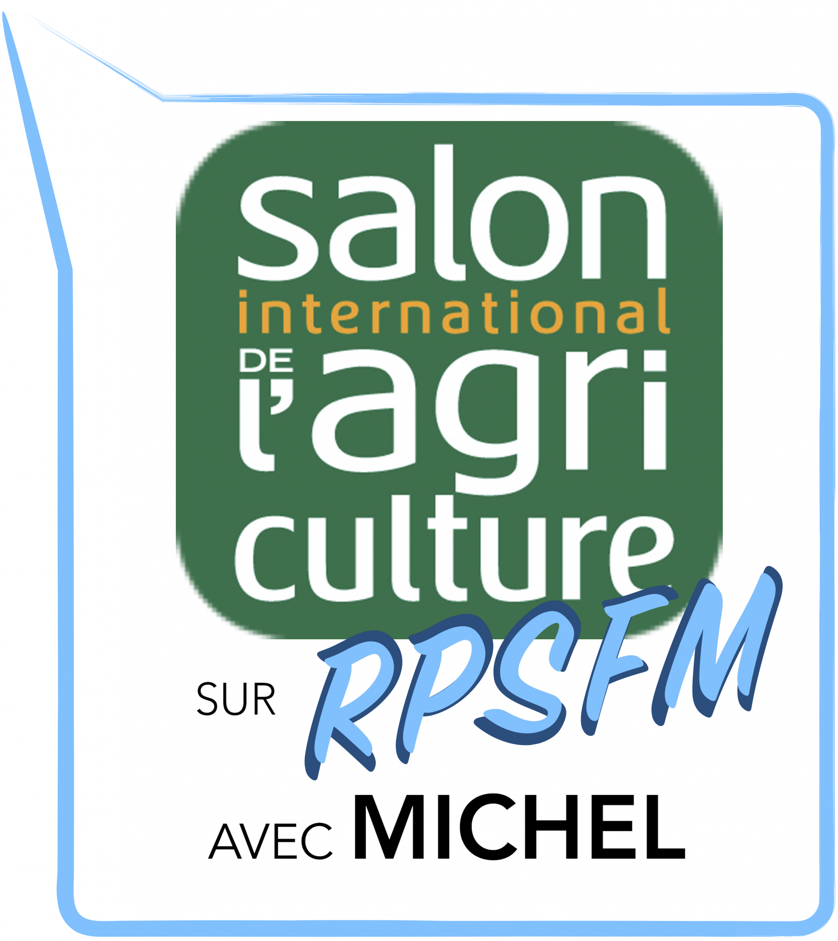 Salon International de l'Agriculture 2019 avec Michel