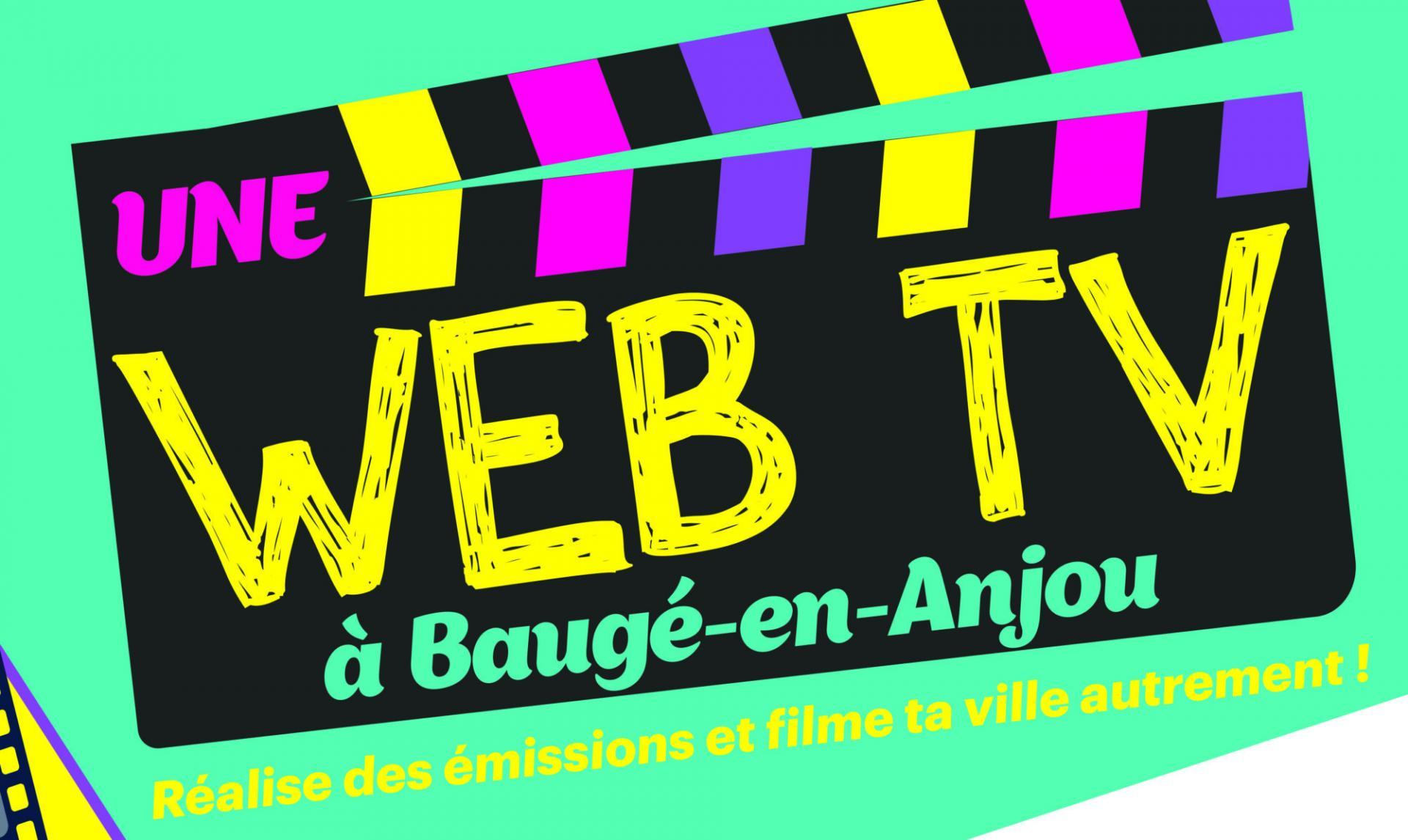 L'ACTU : BAUGE-EN-ANJOU : LANCEMENT D'UNE WEB TV POUR ET PAR LES JEUNES !