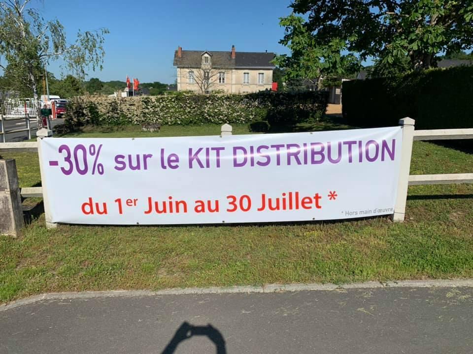 LES BONS PLANS : PROMOTION SUR VOTRE KIT DE DISTRIBUTION DANS VOTRE GARAGE CITROËN MICHAUD DE BAUGE !