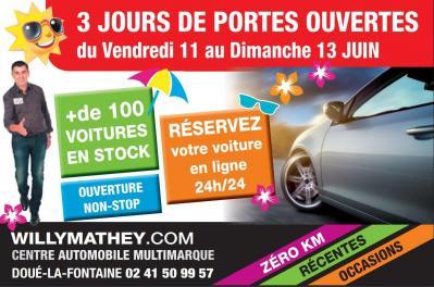 Portes-Ouvertes - Willy Mathey Automobiles - Doué-la-Fontaine