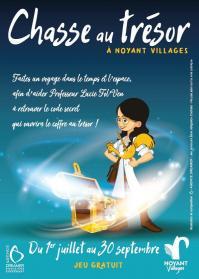 Chasse au trésor à Noyant-Villages (49)