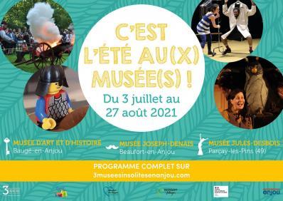 C'est l'été au(x) Musée(s) ! - Juillet/Août 2021