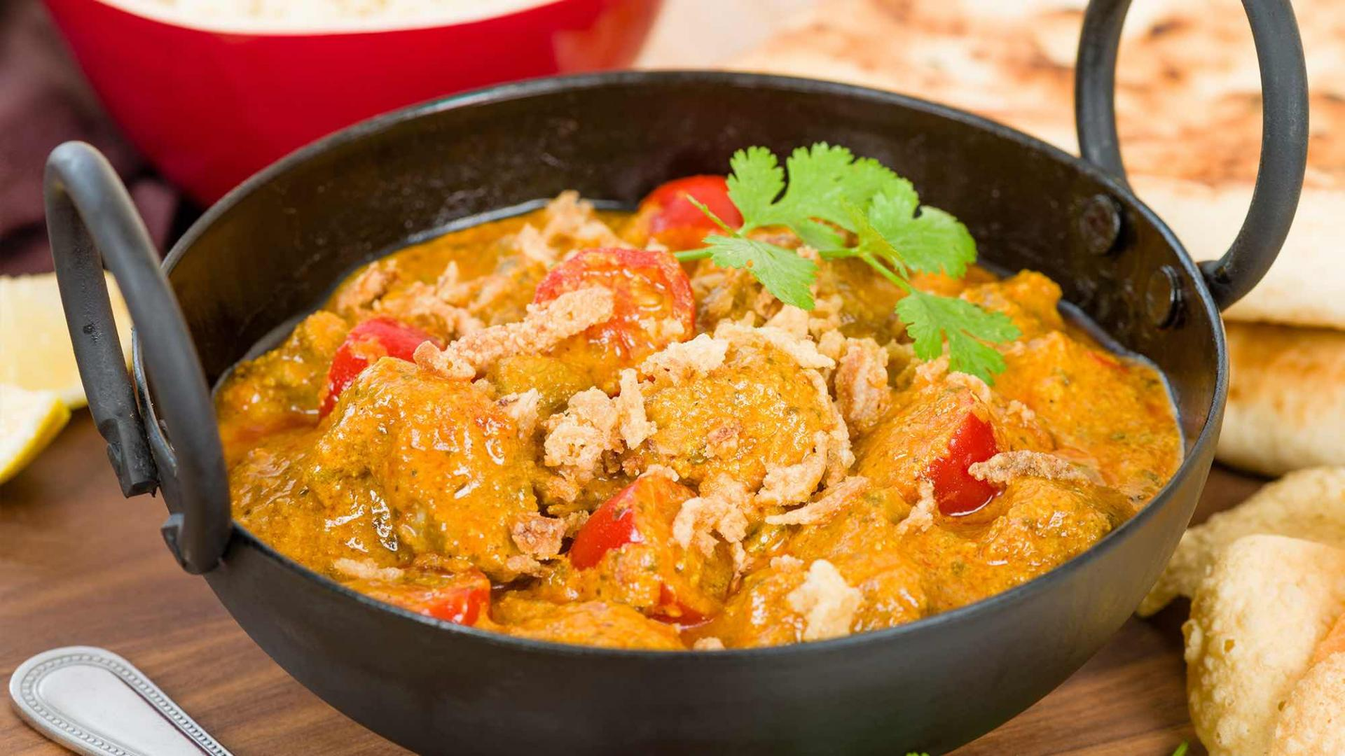 Agneau au curry 2000