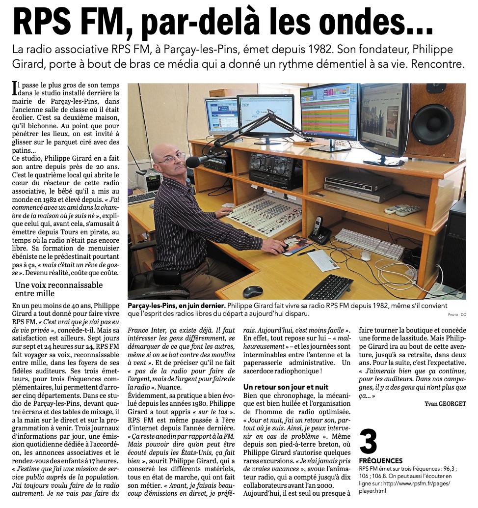 RPSFM, par delà les ondes