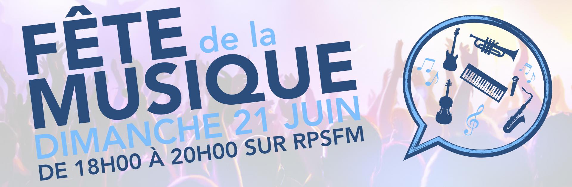 Fête de la musique 2020 - RPSFM