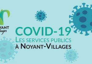 Les services au public à Noyant-Villages