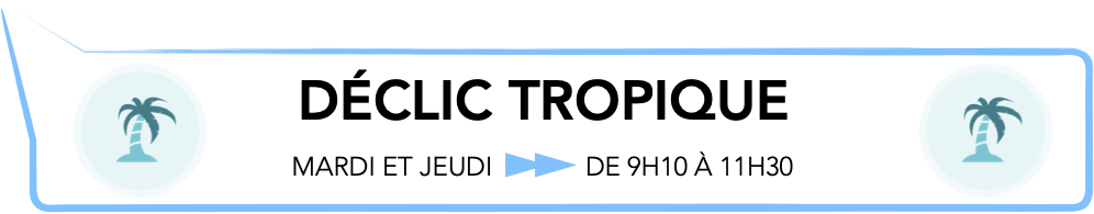 DÉCLIC TROPIQUE