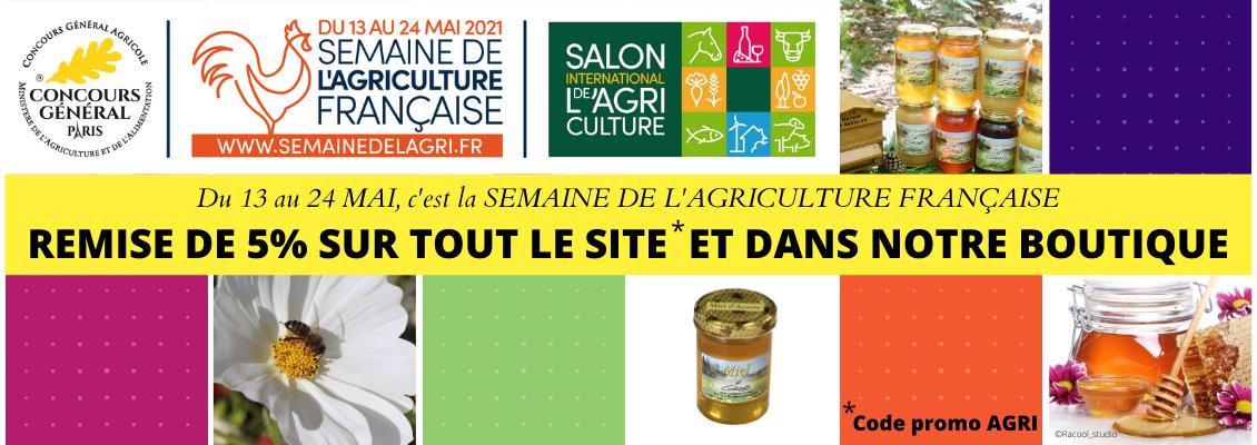 Semaine de l'Agriculture française - Miels Girard