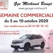 Semaine commerciale - Garage Citroën Michaud - Baugé
