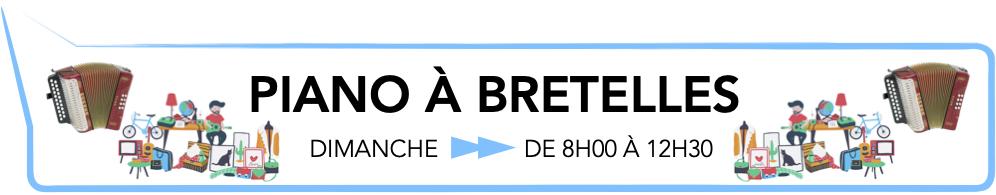 PIANO À BRETELLES
