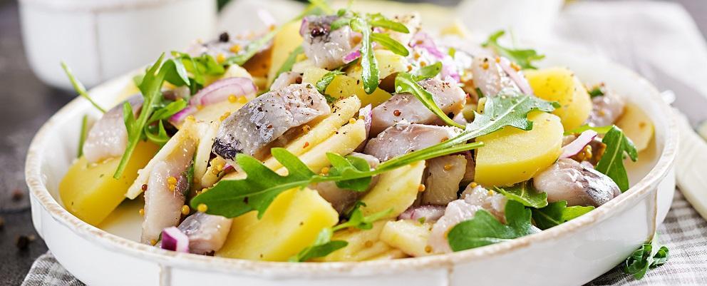Recette de la semaine - Harengs aux pommes de terre et aux oignons