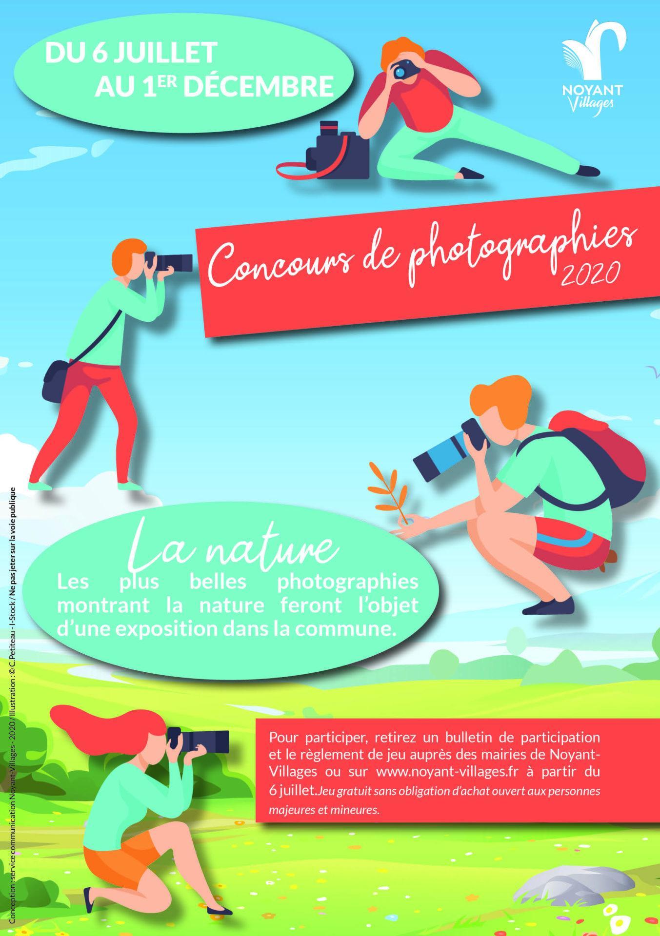 Concours de photographies à Noyant-Villages (49)